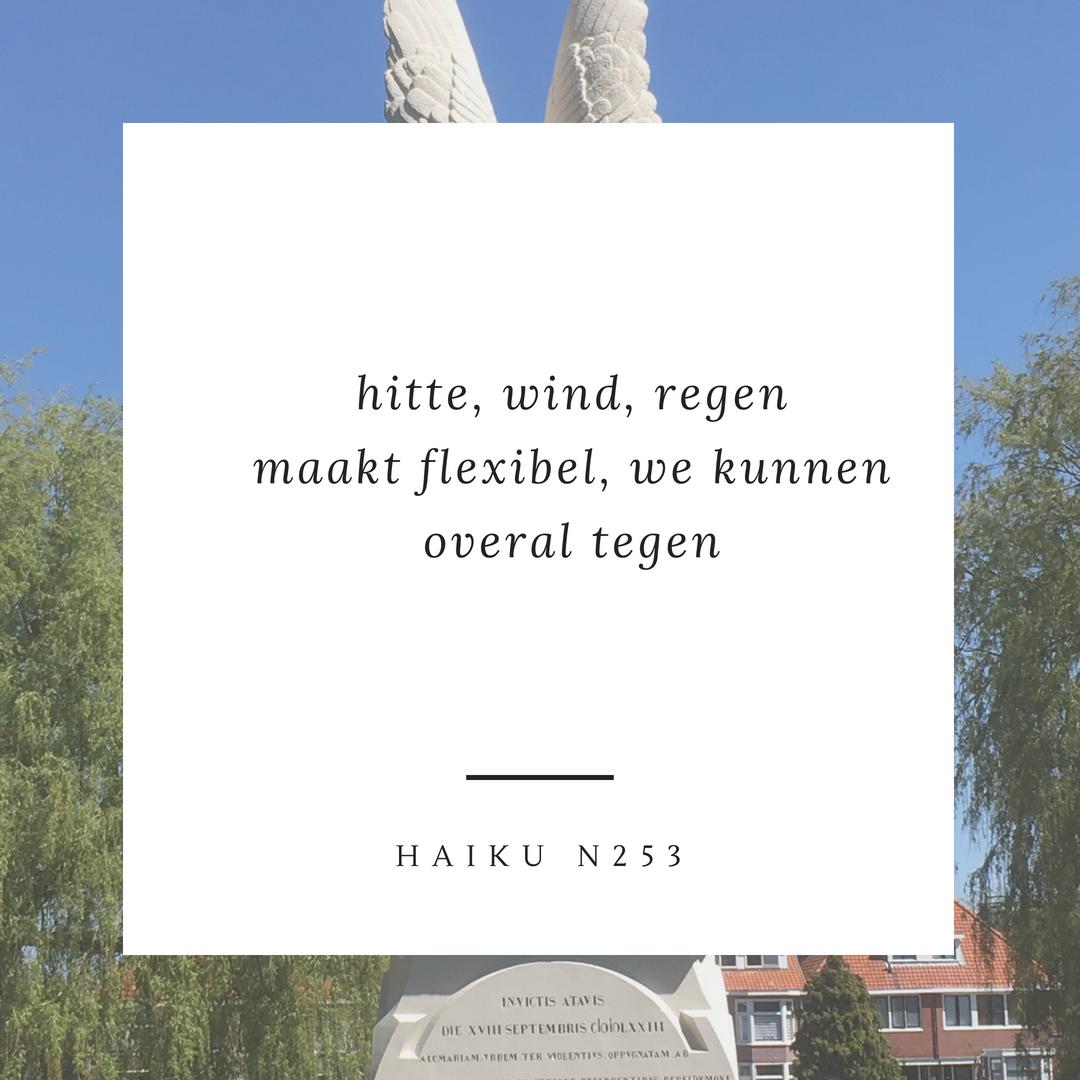 Haiku n253 weer